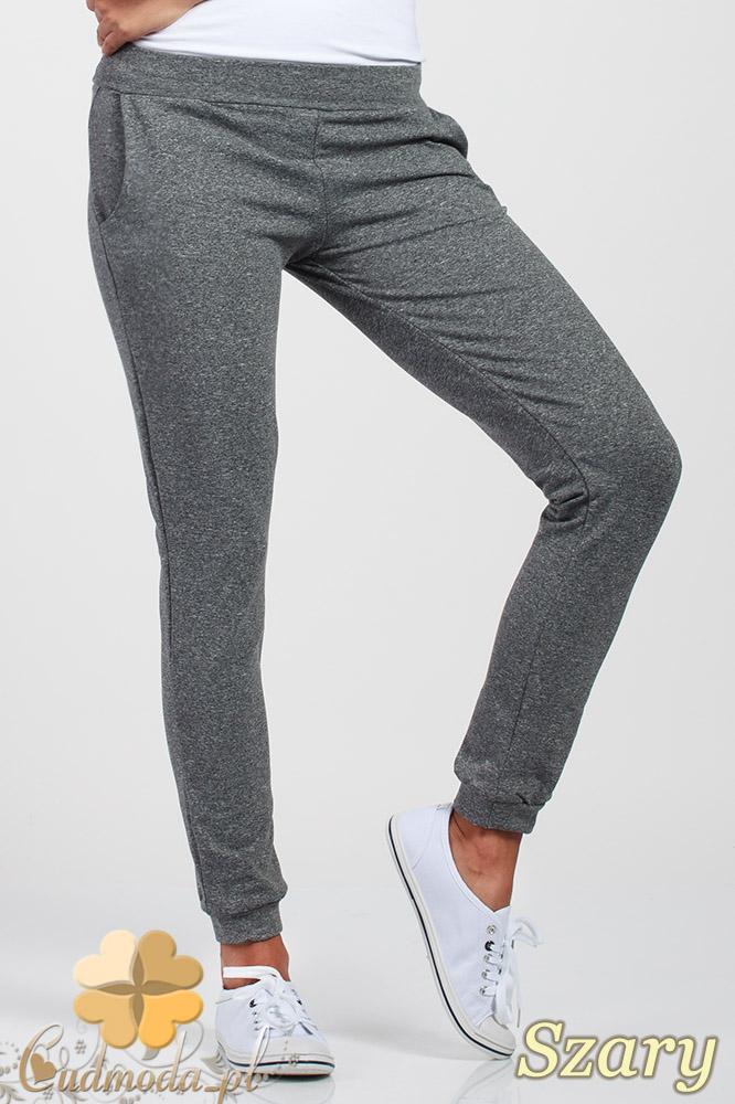CM1016 Elastyczne spodnie dresowe Paulo Connerti - szare