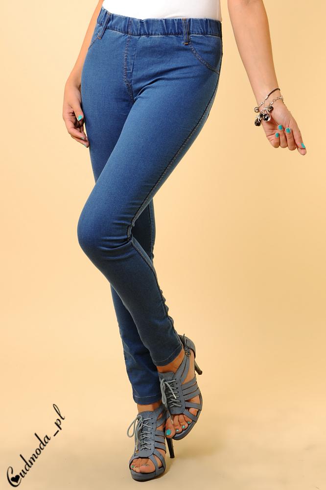 CM0131 Legginsy jeans w wersji denim