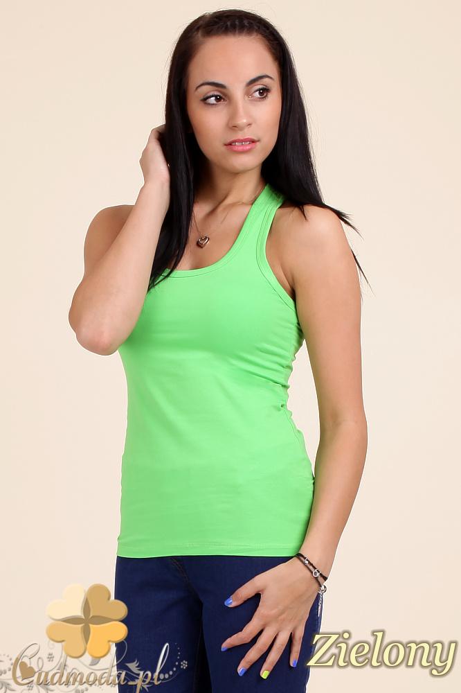 CM0046 Klasyczna bawełniana damska bokserka - zielona