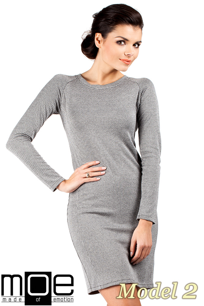 CM0329 Klasyczna sukienka mini - pepito model 2