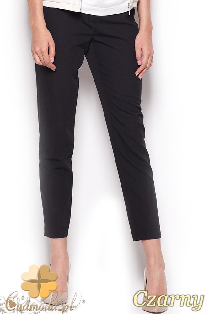 CM0913 FIGL M293 Eleganckie spodnie damskie 7/8 - czarne