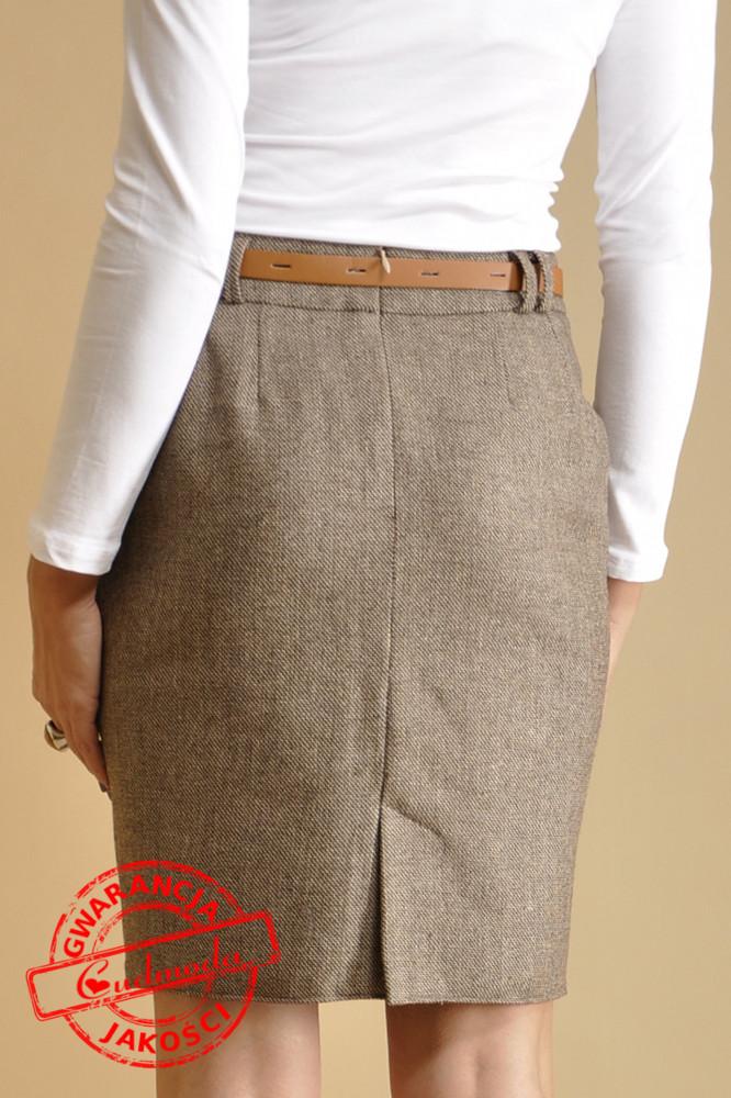WYCOFANY Elegancka spódnica ołówkowa
