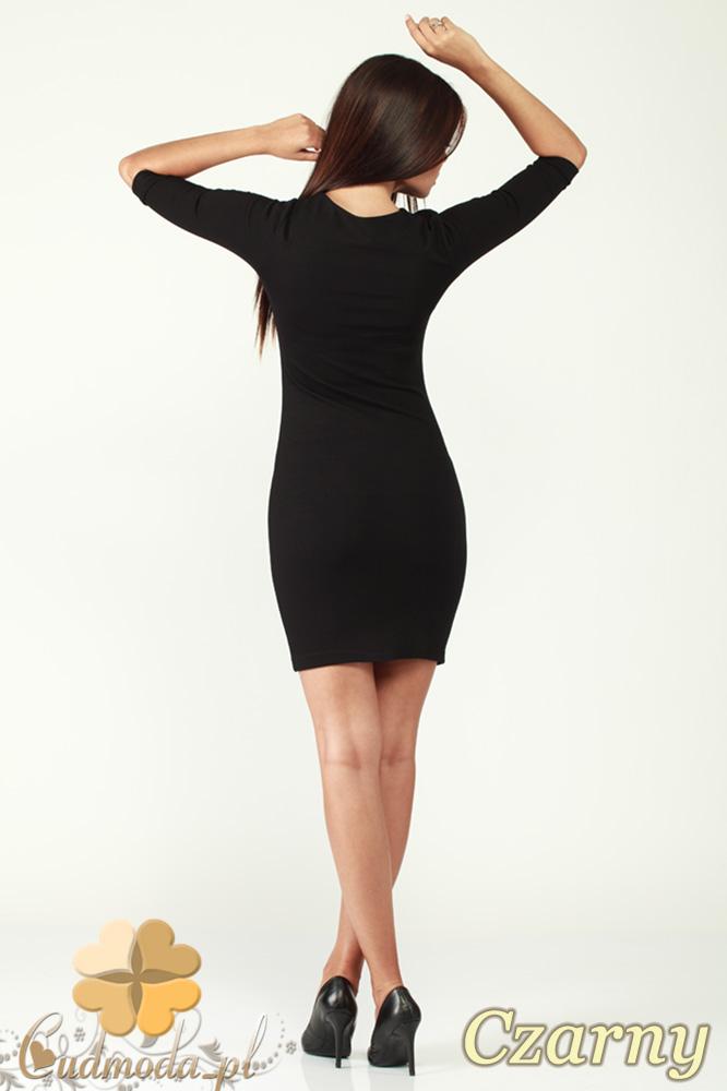 CM0994 Klasyczna sukienka mini - czarna