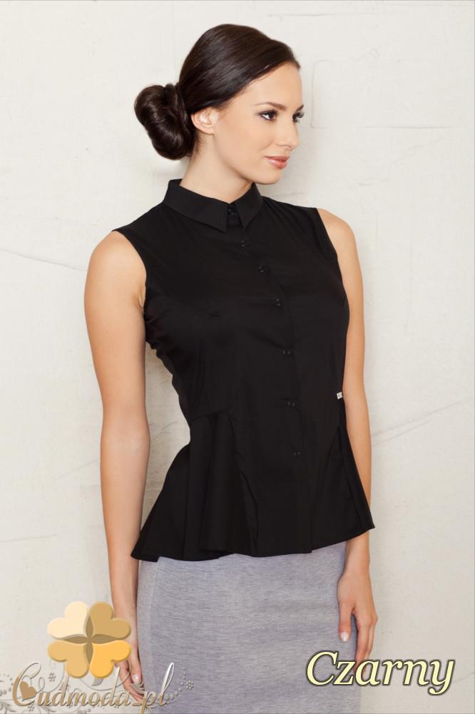 CM1441 Koszula baskinka bez rękawów - czarna