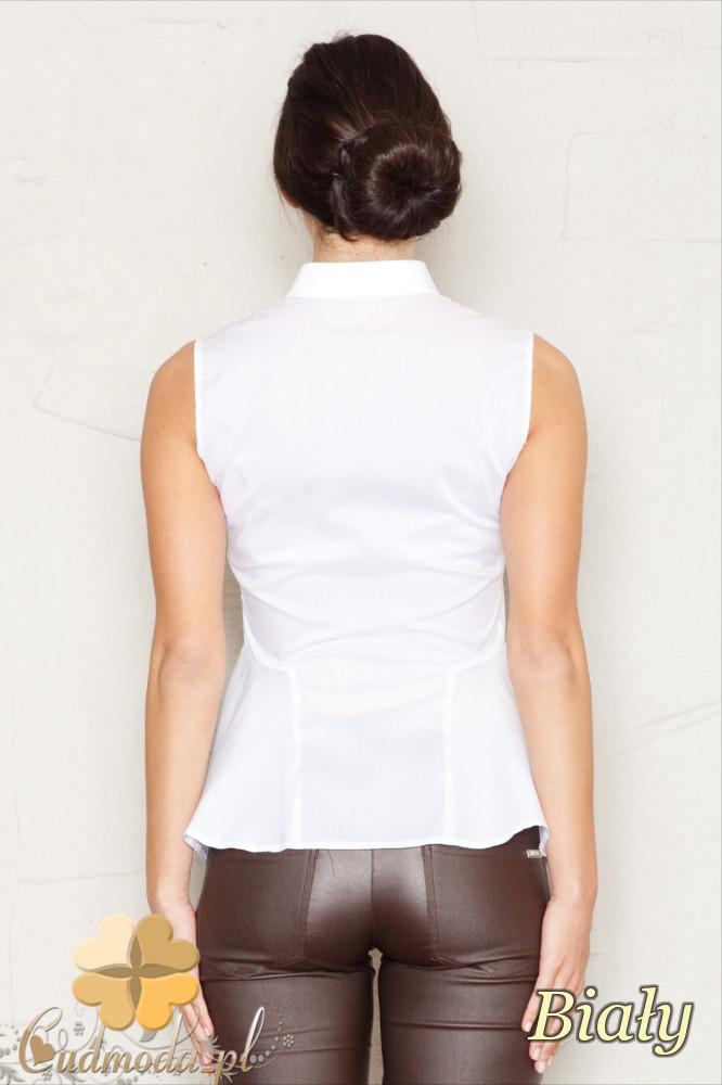 CM1441 Koszula baskinka bez rękawów - biała