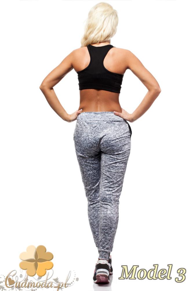 CM2191 Elastyczne sportowe legginsy kobiece - model 3