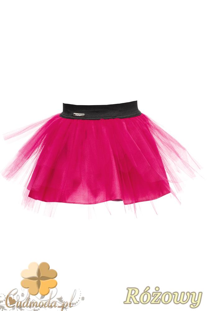 MA049 Tiulowa spódniczka dziecięca baletnica - różowa
