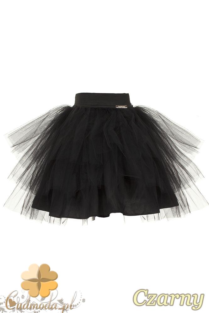 MA049 Tiulowa spódniczka dziecięca baletnica - czarna