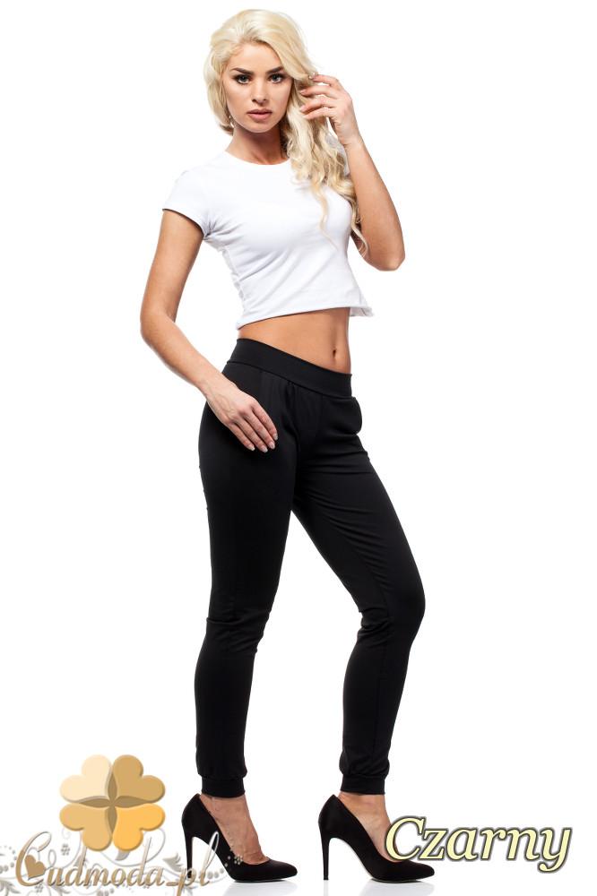 CM1016 Elastyczne spodnie dresowe Paulo Connerti - czarne