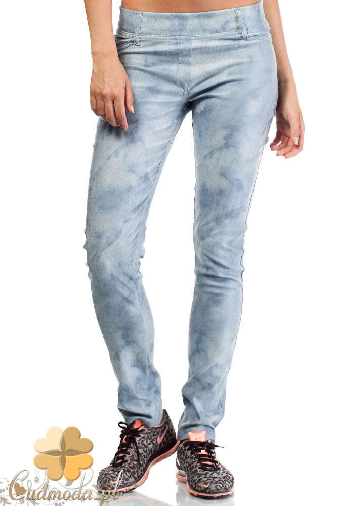 CM1825 Modne jeansowe spodnie damskie
