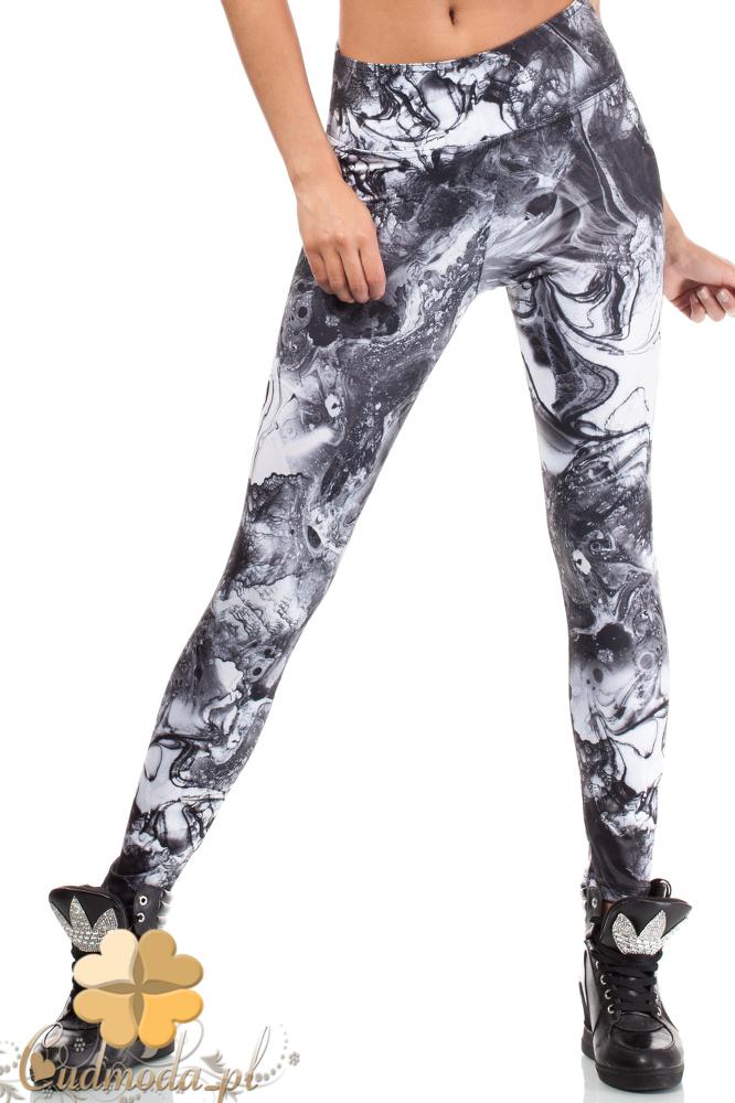 CM1837 Dopasowane elastyczne legginsy fitness