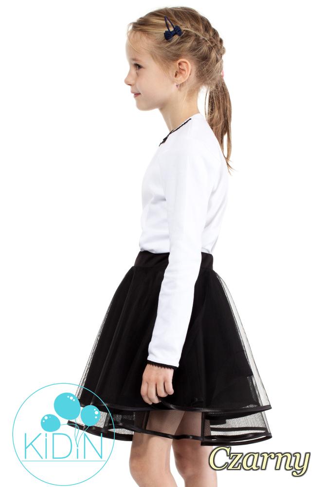 CM2029 Dziecięca tiulowa spódniczka - czarna
