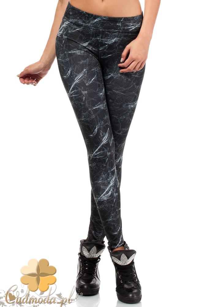 CM1835 Sportowe legginsy damskie neurony
