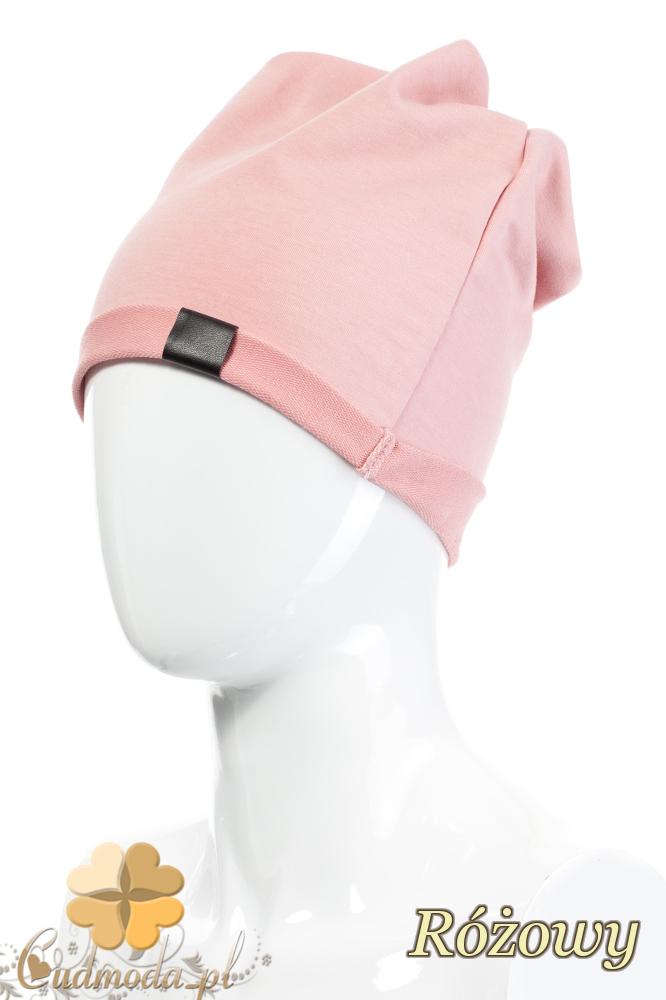 CM2075 Lekka bawełniana czapka zimowa - różowa