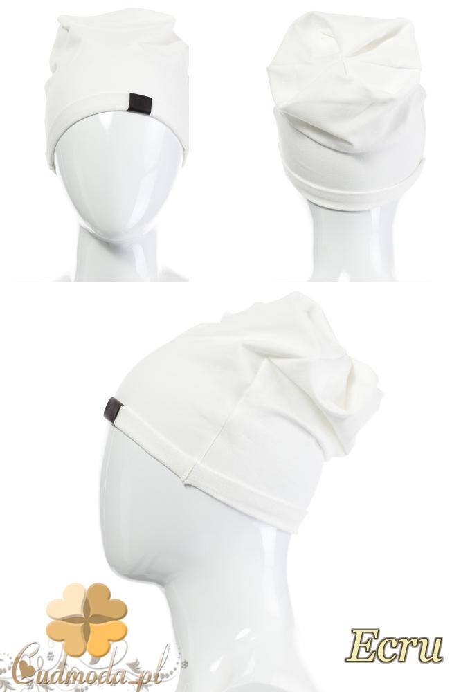 CM2075 Lekka bawełniana czapka zimowa - ecru