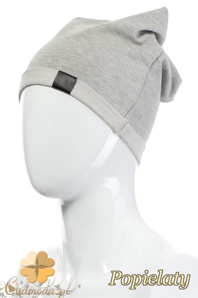 CM2075 Lekka bawełniana czapka zimowa - popielata
