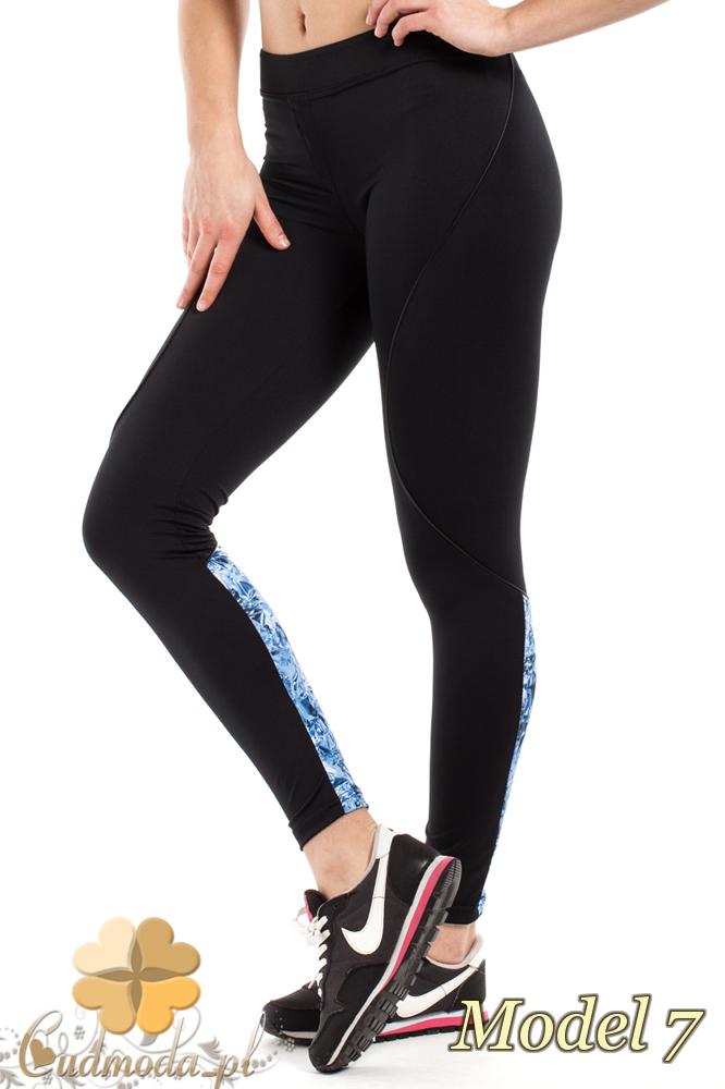 CM2185 Dopasowane legginsy sportowe