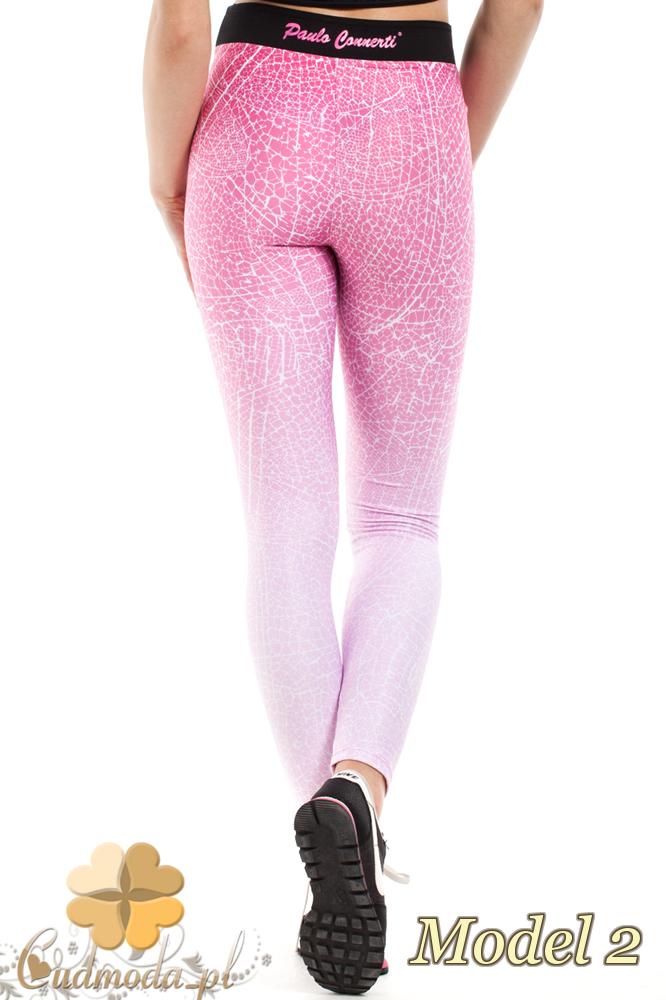 CM2190 Wygodne gładkie legginsy fitness - model 2