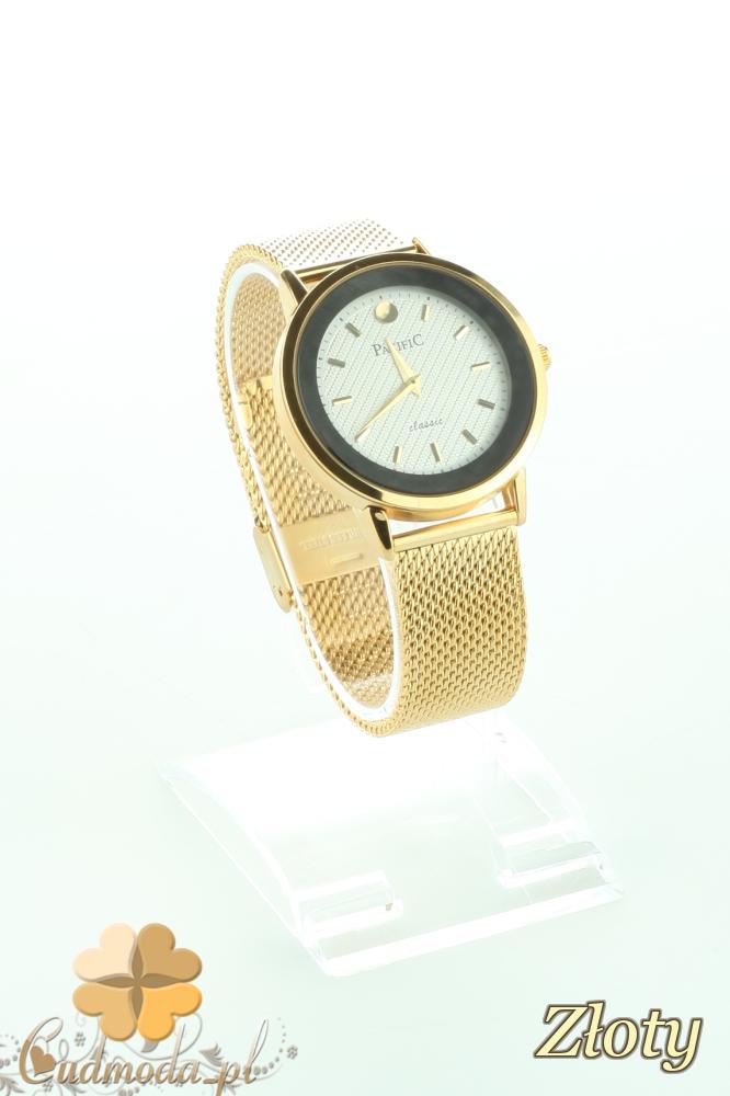 CM2194 Stylowy zegarek kobiecy na bransolecie - złoty