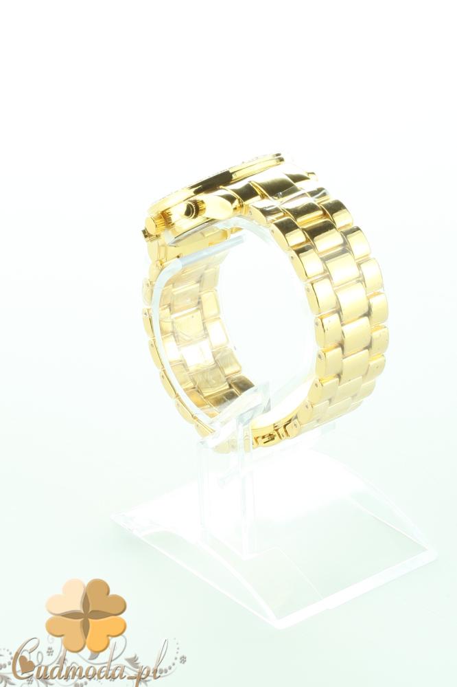 CM2195 Złoty zegarek damski z cyrkonami
