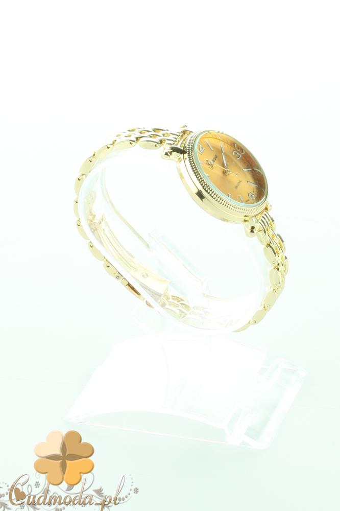 CM2196 Elegancki złoty zegarek na bransolecie