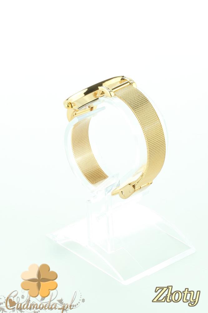 CM2197 Stylowy ozdobny zegarek damski - złoty