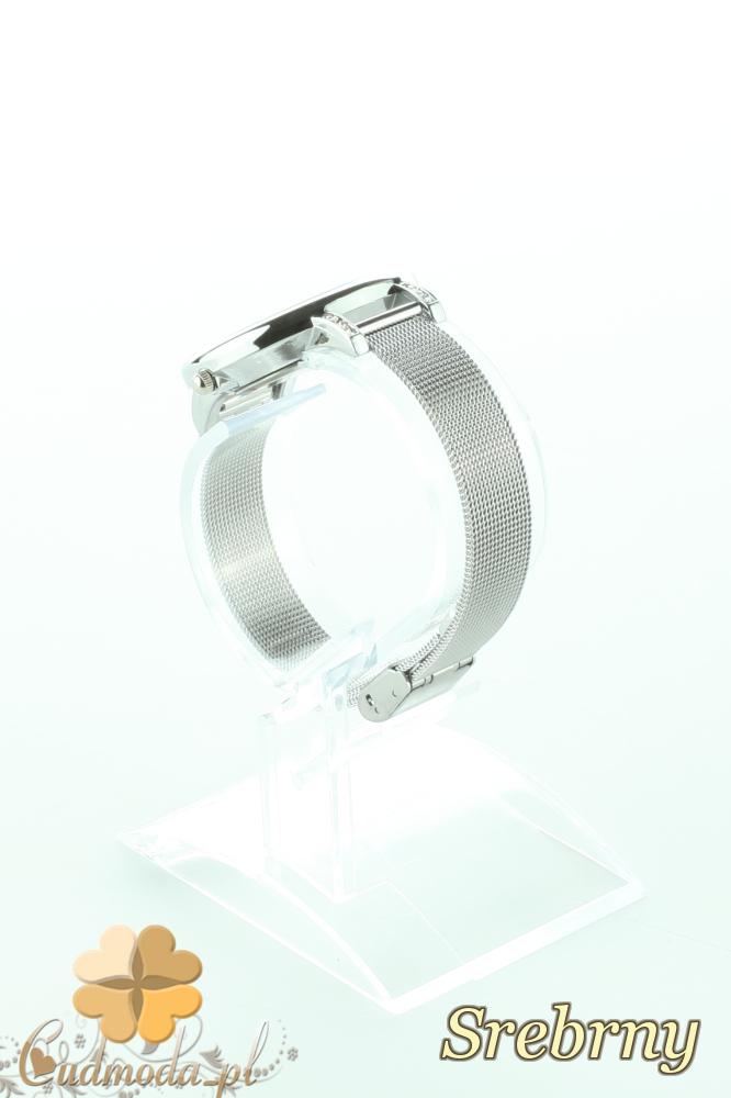 CM2197 Stylowy ozdobny zegarek damski - srebrny