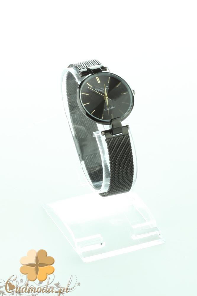 CM2199 Stylowy czarny zegarek damski na bransolecie