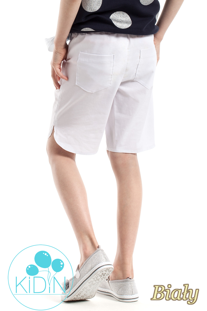 CM2260 Dziewczęce szorty na lato - białe