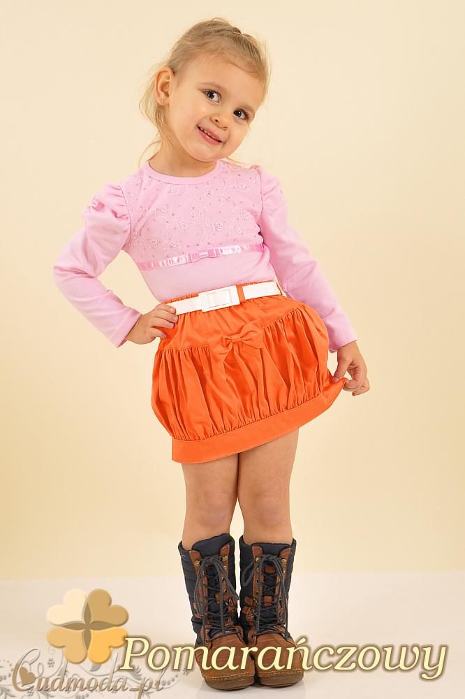 MA006 Spódniczka dziecięca bombka - pomarańczowa
