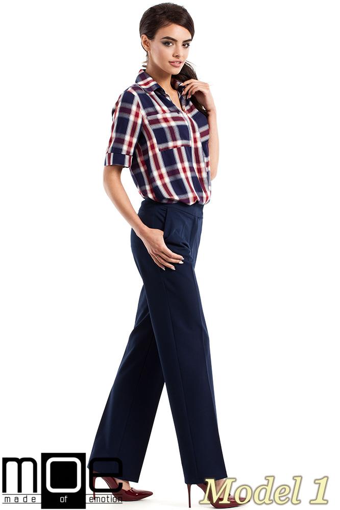 CM2340 Kobieca koszula w kratę - model 1