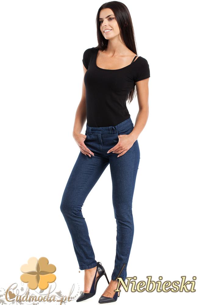 CM2605 Stylowe jeansowe spodnie rurki