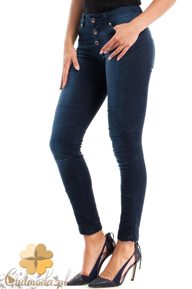 CM2466 Elastyczne spodnie jeansowe