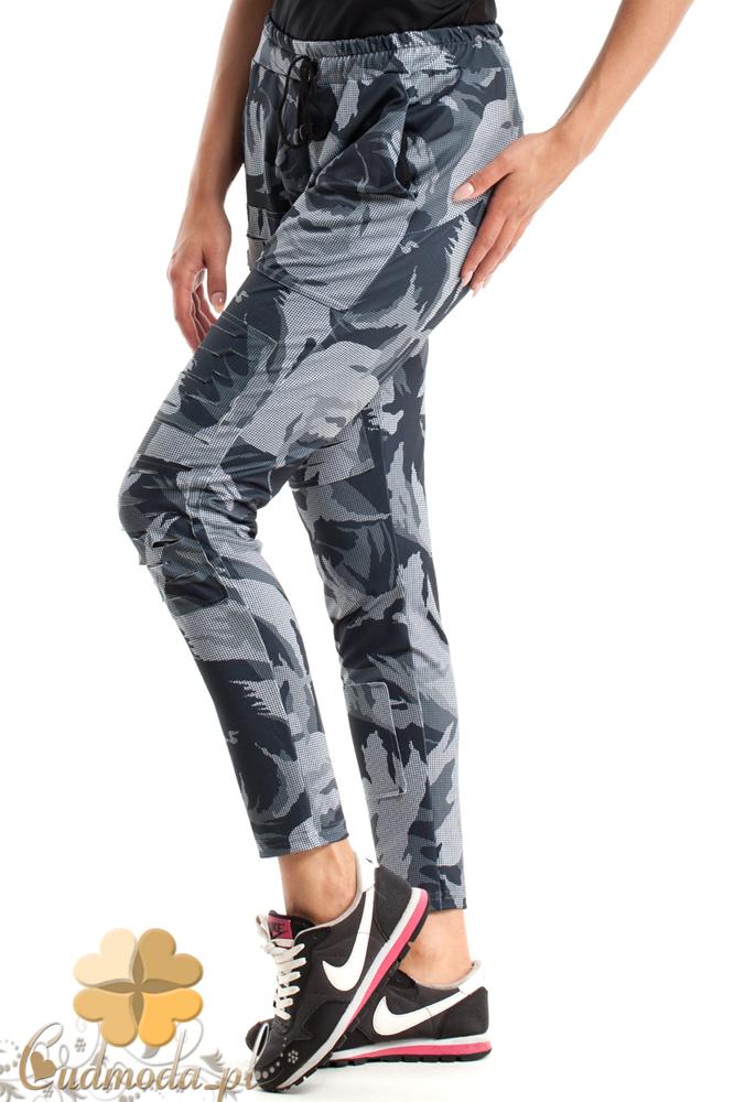 CM2488 Luźne sportowe spodnie damskie