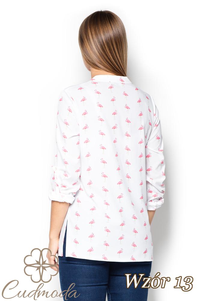 CM2520 Luźna koszula we wzory - wzór 13