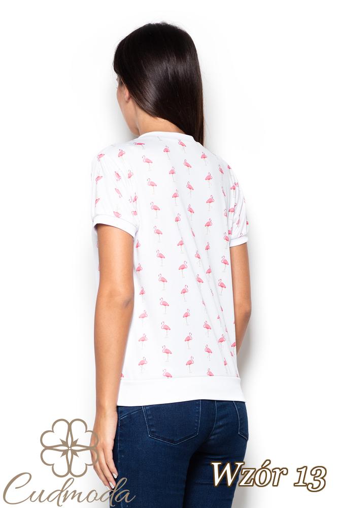 CM2522 Elastyczna bluzka we wzory - wzór 13