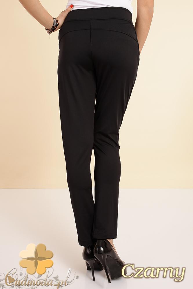 CM0196 Włoskie spodnie pumpy legginsy - czarne OUTLET