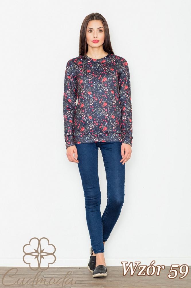 CM2752 Stylowa bluzka damska - wzór 59