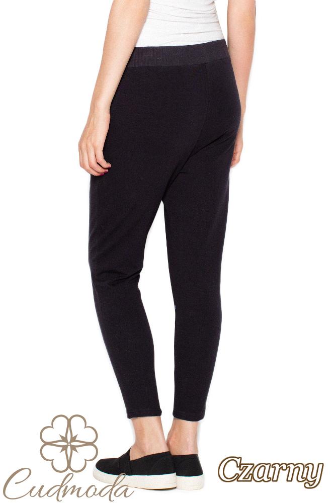 CM2956 Funkcjonalne spodnie dresowe damskie - czarne