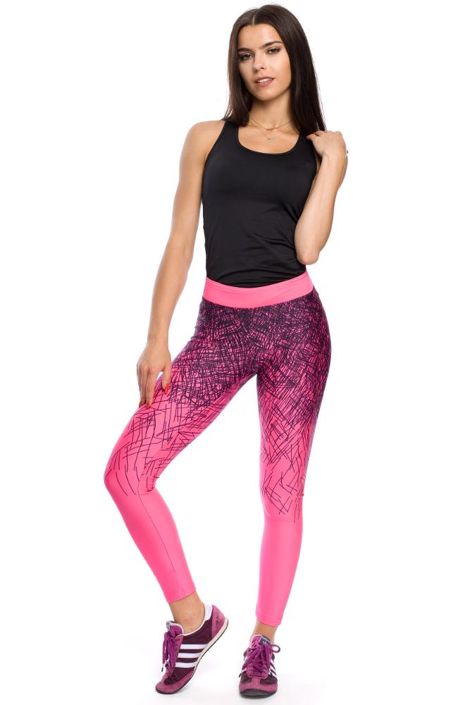 CM3113 Sportowe elastyczne legginsy