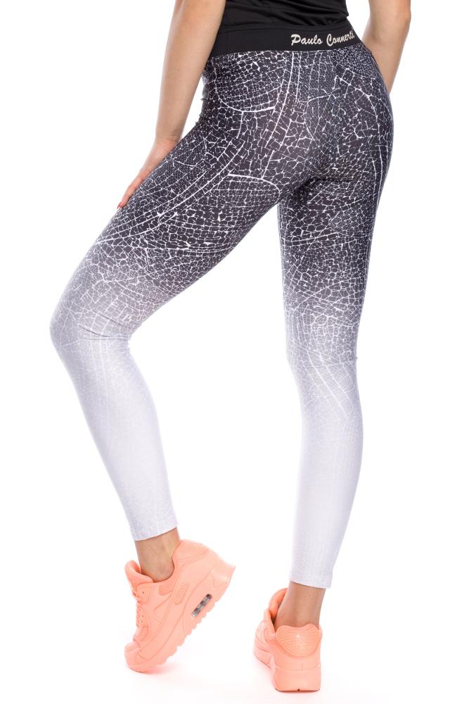 CM3116 Gładkie elastyczne legginsy sportowe