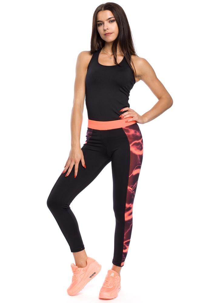 CM3126 Damskie legginsy o nowoczesnym wyglądzie