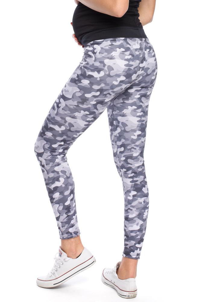 CM3139 Elastyczne sportowe legginsy ciążowe