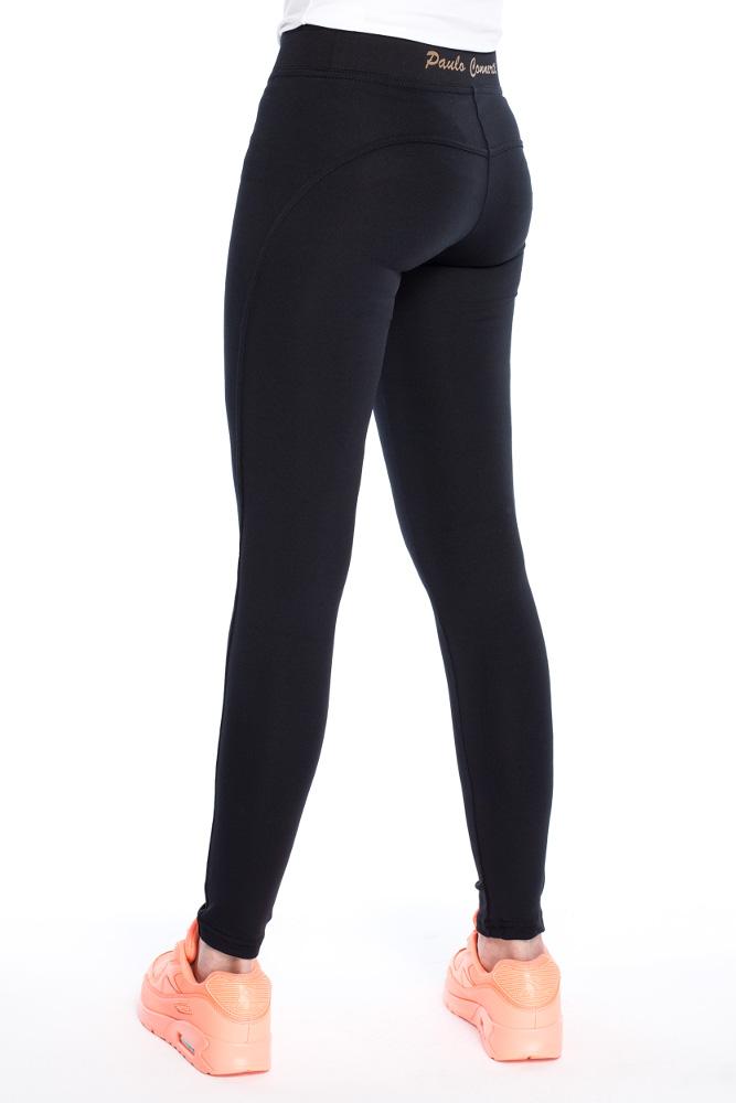 CM3156 Dopasowane legginsy push up - czarne