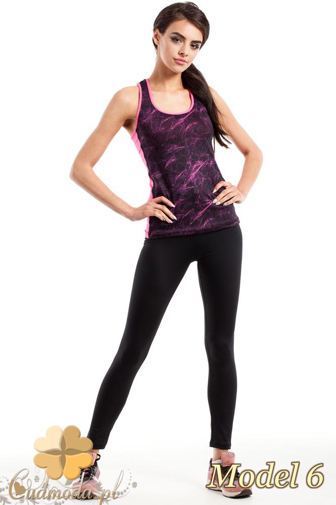 CM2278 Sportowy top damski na fitness - model 6