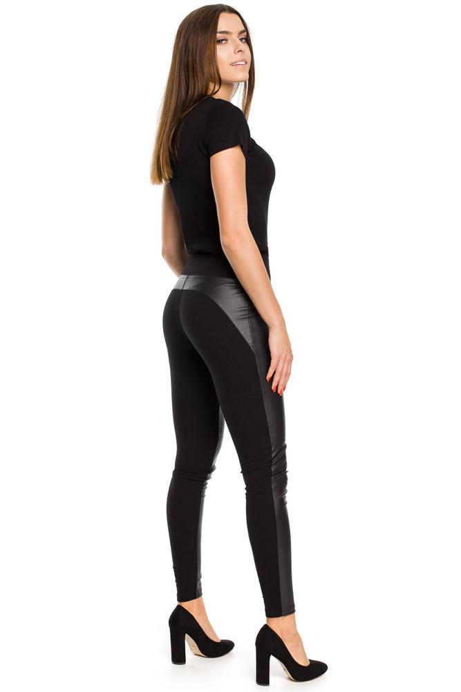 CM3158 Nowoczesne gładkie spodnie damskie