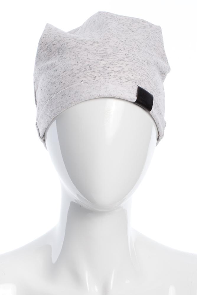 CM2075 Lekka bawełniana czapka zimowa - stracciatella