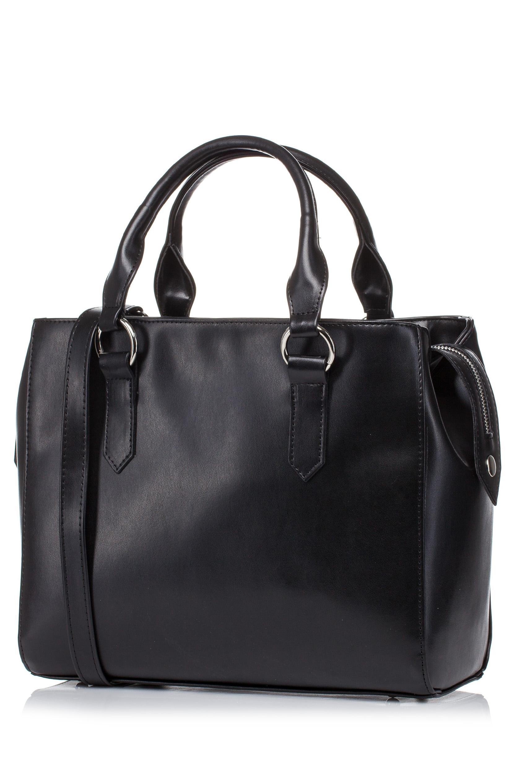 CM3576 Biurowa torebka na ramię - czarna