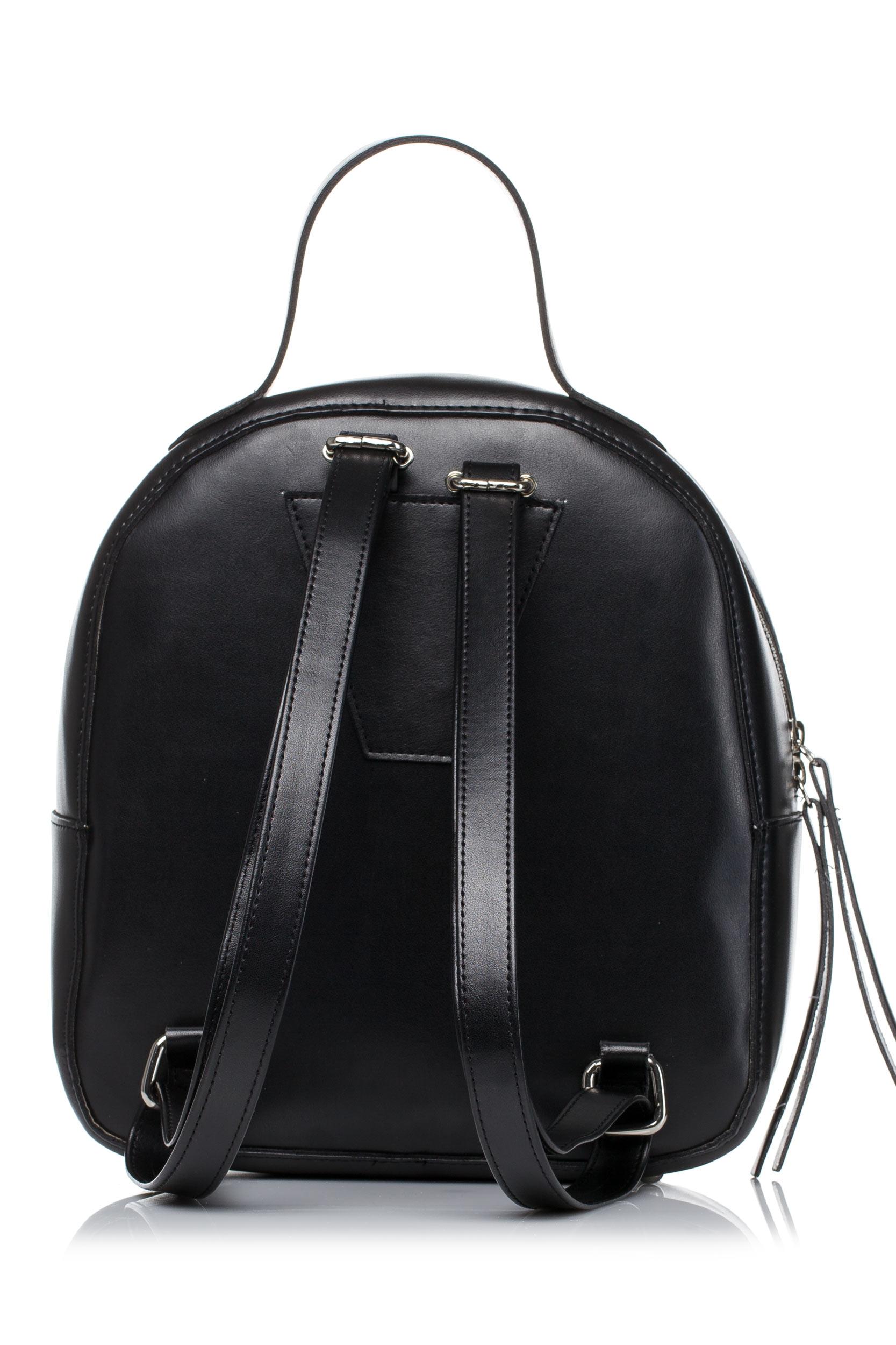 CM3578 Pikowany plecak - czarny