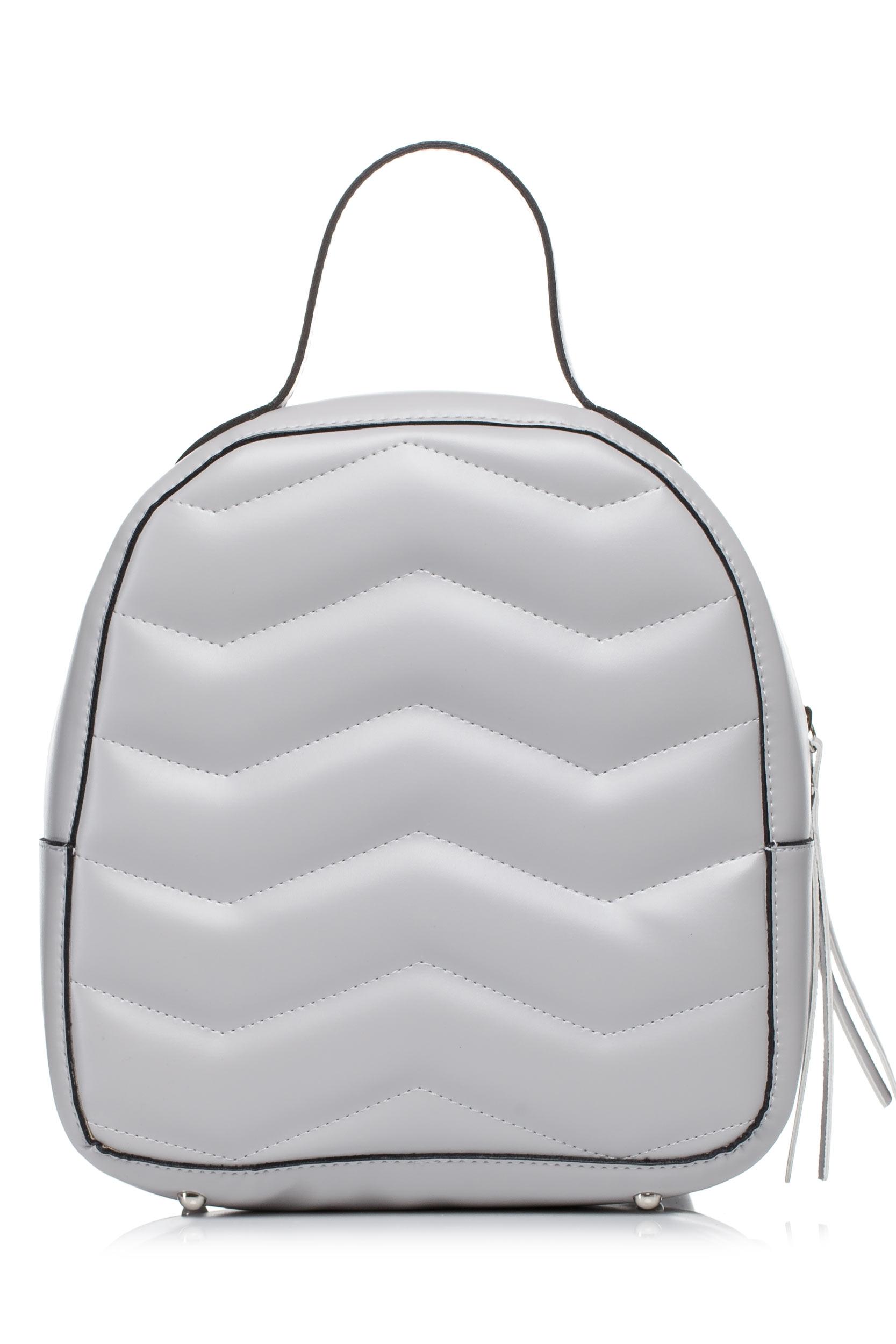CM3578 Pikowany plecak - szary